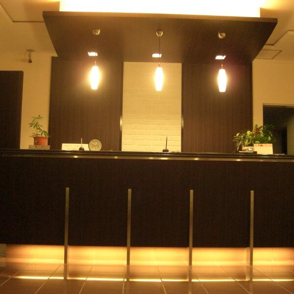 ラ・メール北大阪のフロント(家具付き賃貸)
