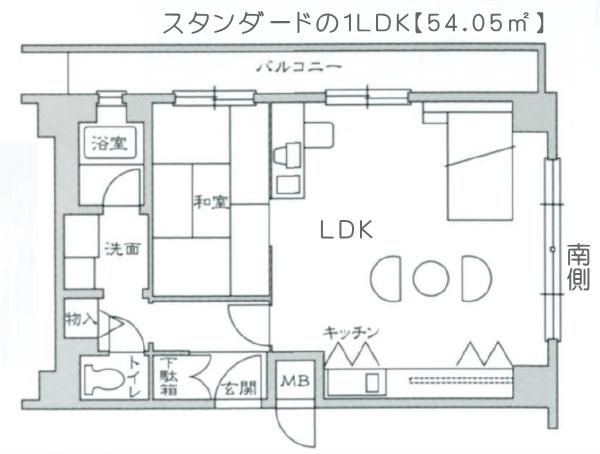 Dタイプ【1LDK畳タイプ】